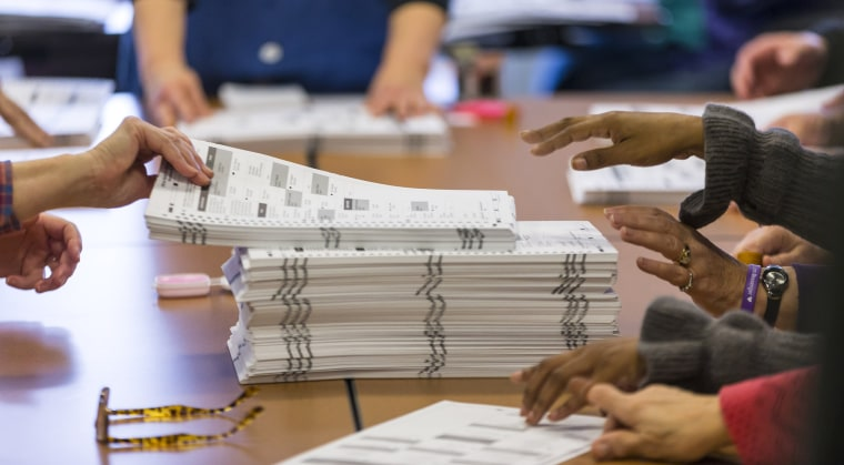 Image: Wisconsin's Presidential Election Recount Begins