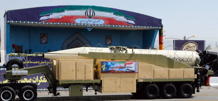 Image: Iran annual military parade
