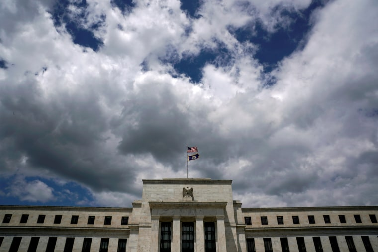Image: Clouds over the Federal Reserve in Washington