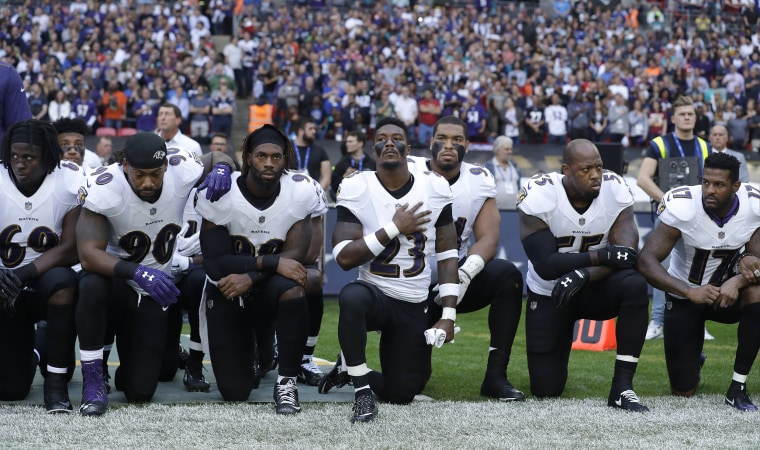New NFL policy: Teams to be fined if players kneel during anthem