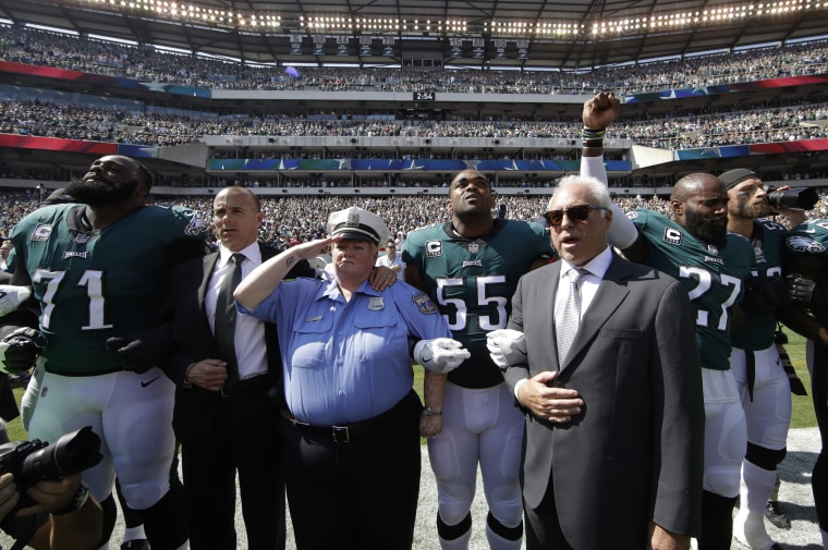 Image: Jeffrey Lurie, Malcolm Jenkins