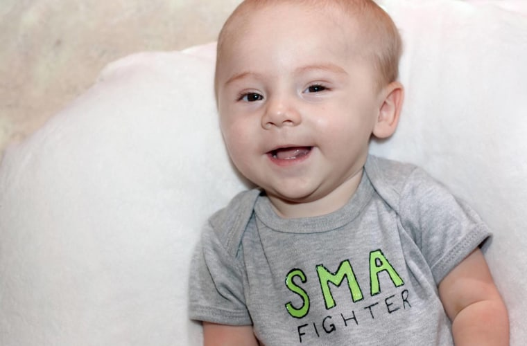Isaac Kimmel died of Spinal Muscular Atrophy (SMA) shortly after his first birthday.