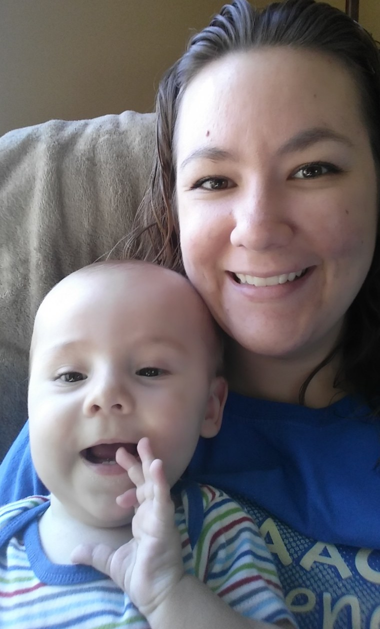 Gloria Kimmel with her son, Isaac.
