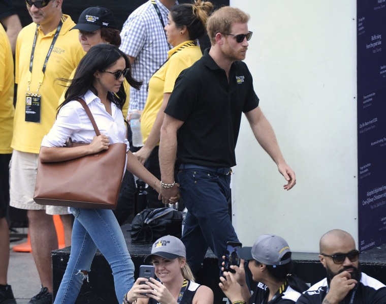 Prince Harry, Meghan Markle, Invictus Games