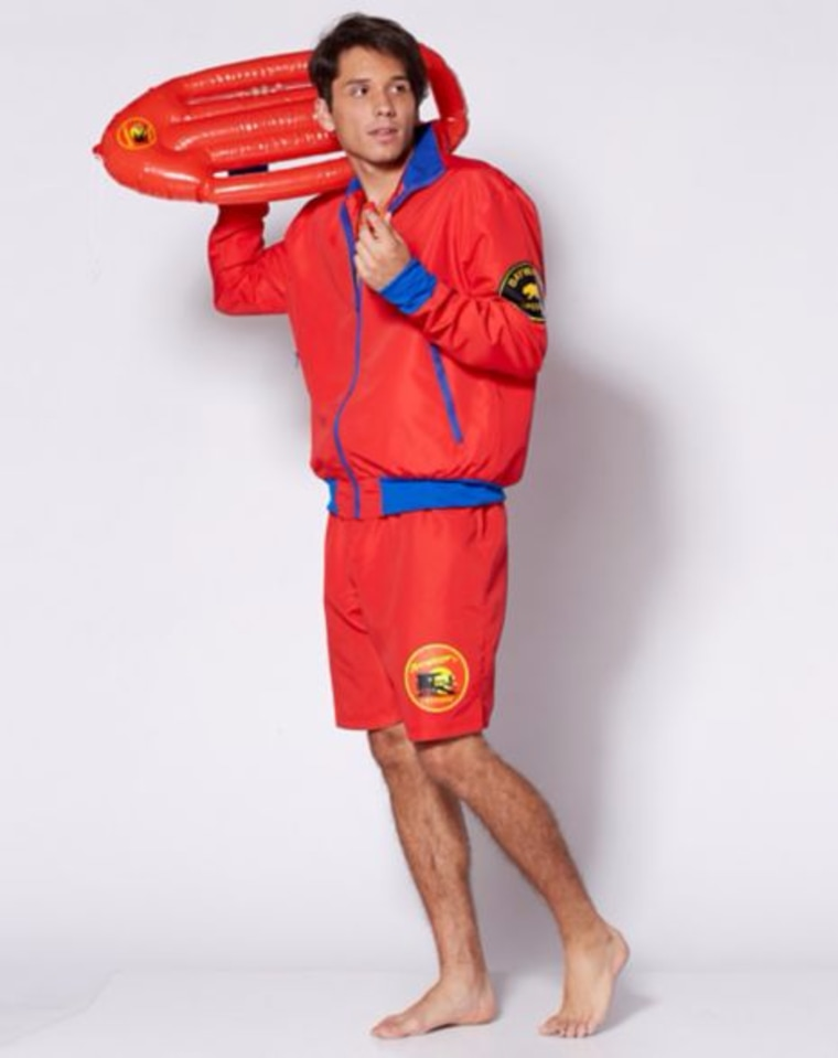 Baywatch men's costume