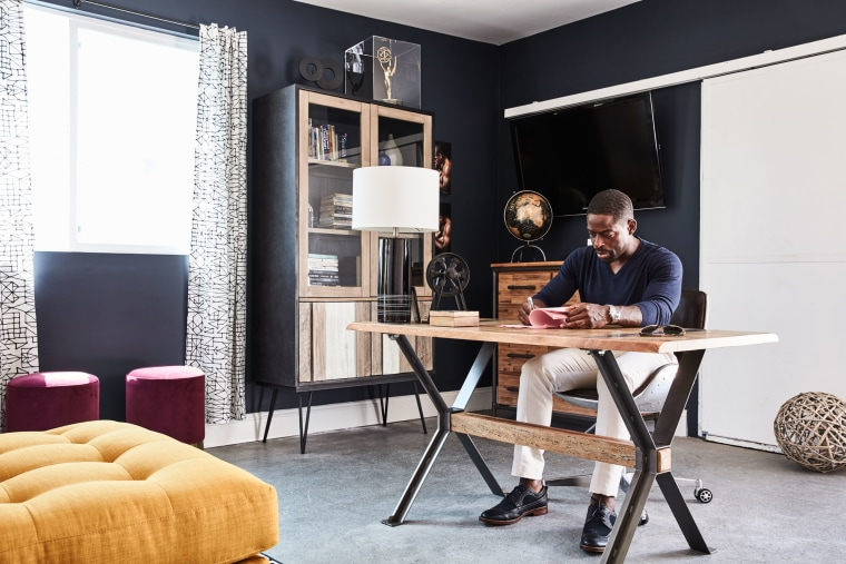 Sterling K. Brown home office