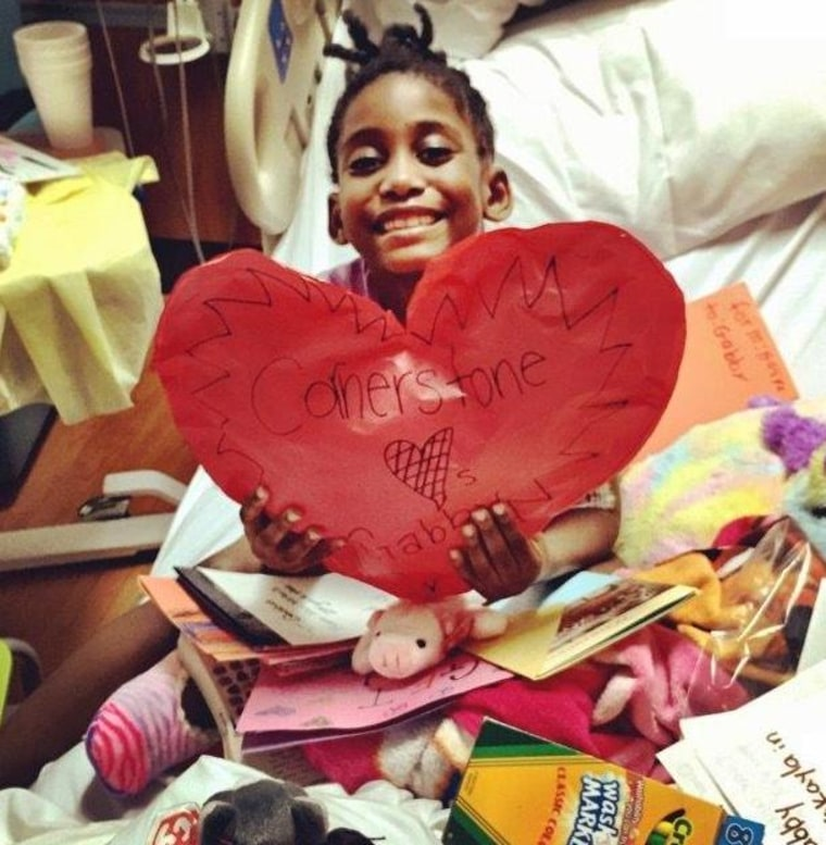 Gabrielle Bolden received a heart transplant when she was seven years old.
