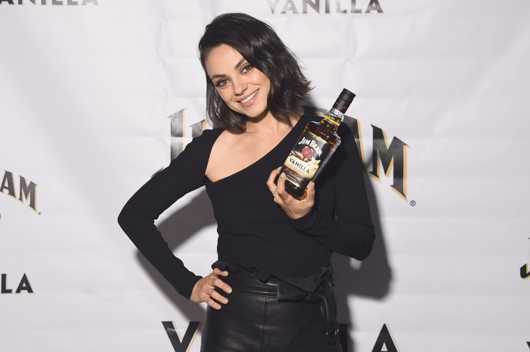 Jim Beam Vanilla Launch Party, Mila Kunis
