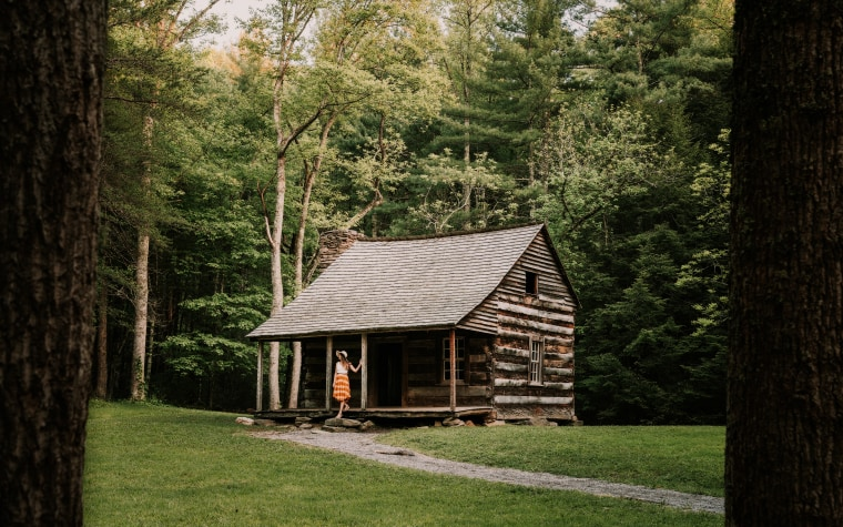 Carter Shields Cabin in Great Smokey Mountains