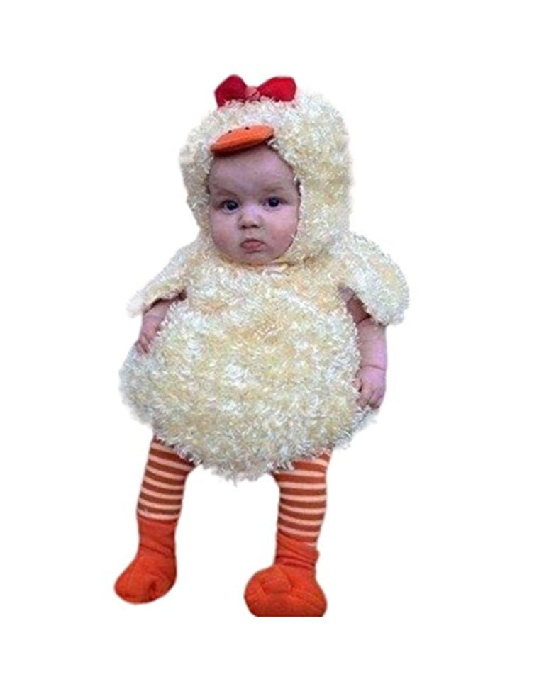 Misaky Newborn Chick hoodie outfit ...  sc 1 st  Today Show & The most popular baby and toddler Halloween costumes