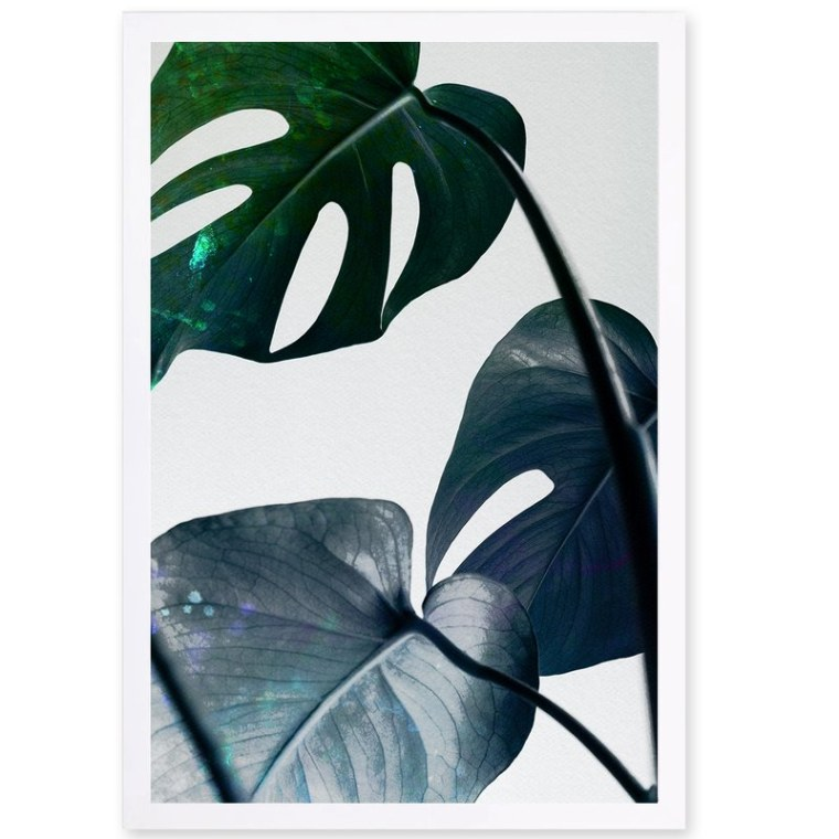 Joss & Main Leaves and Leaves Photographic Print