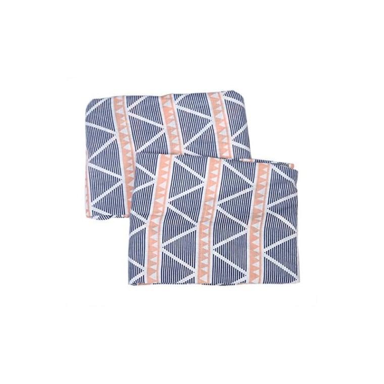 Joss & Main Emma Aztec Triangles Muslin Fitted Crib Sheets