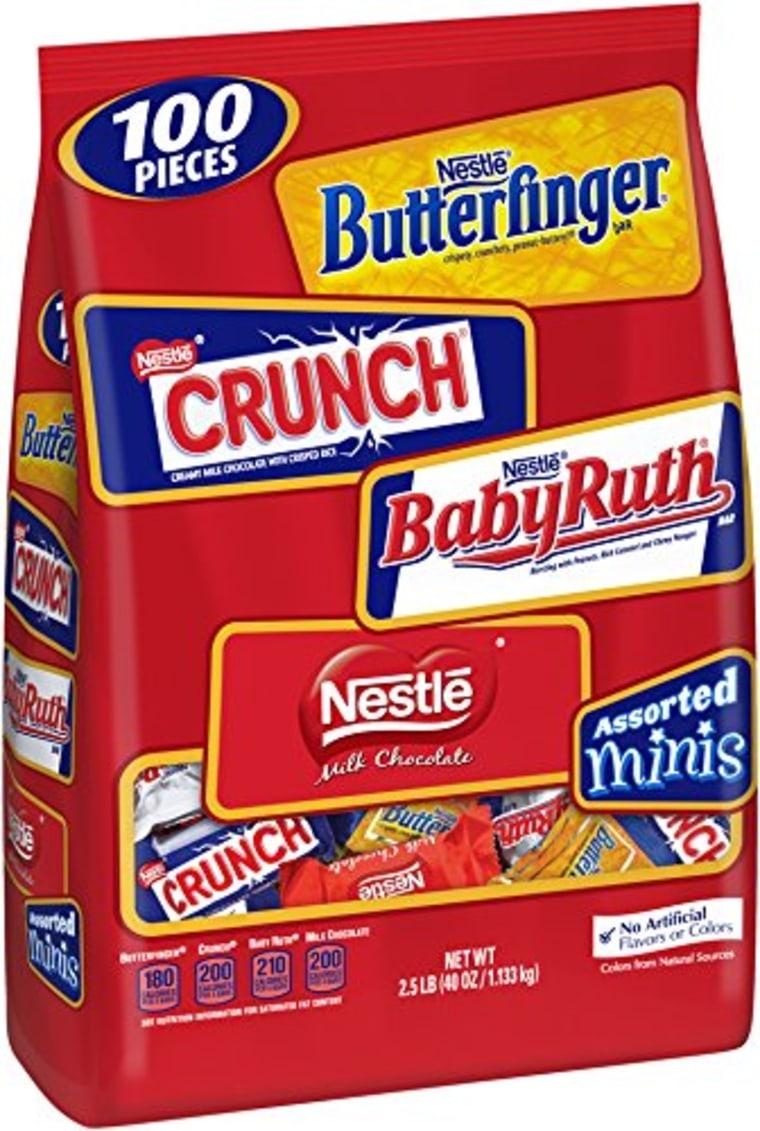 Assorted Nestle chocolates