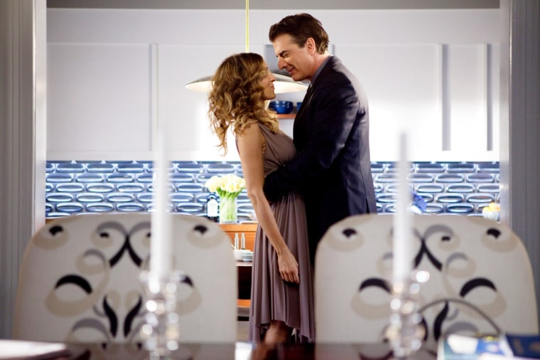 SEX AND THE CITY 2, from left: Sarah Jessica Parker, Chris Noth, 2010. (C)Warner Bros./courtesy Everet