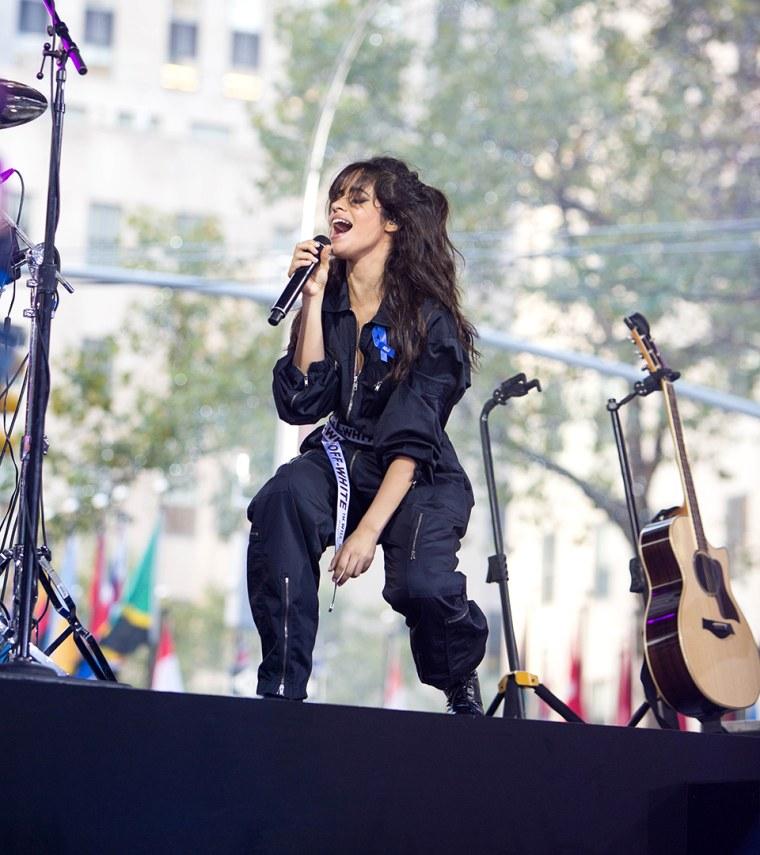 Camila Cabello brings 'Havana' heat to the TODAY plaza