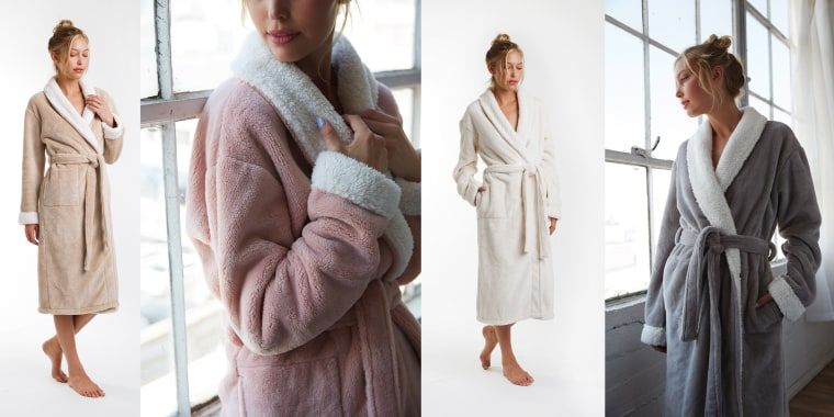 Nine Space Keila Sherpa Bathrobe