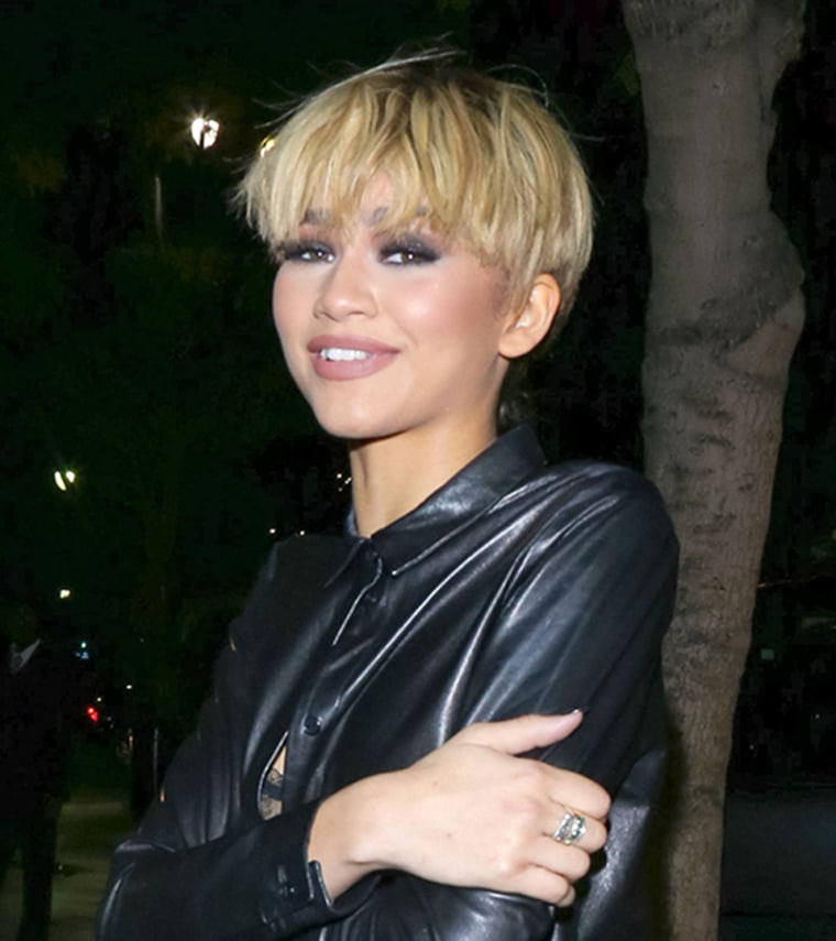 Zendaya hair