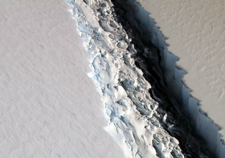 Image: Antarctic iceberg expected to break away