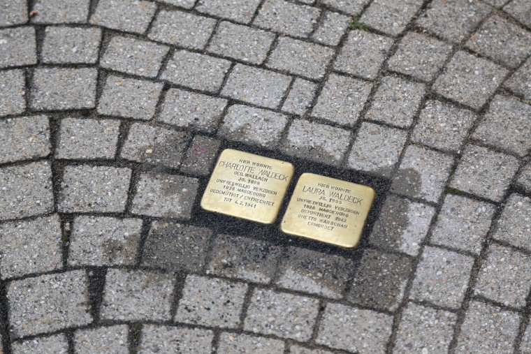 Germany's Nazi Past Is Just a Stumbling Stone Away