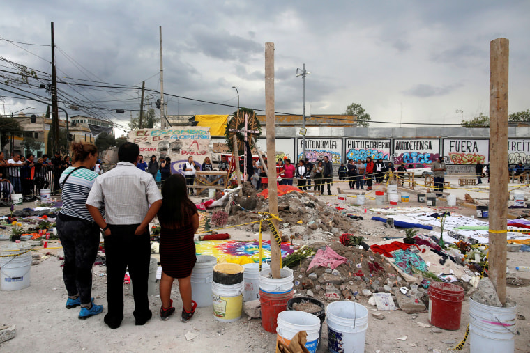 Image: Aftermath of Earthquake in Mexico