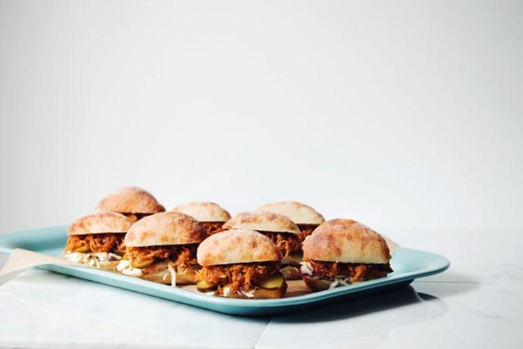 Image: Pulled BBQ Spaghetti Squash Sliders