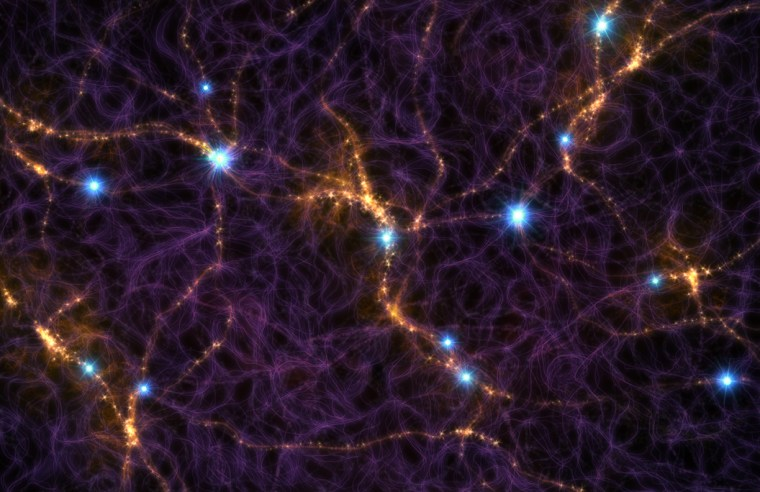 Cosmic web art