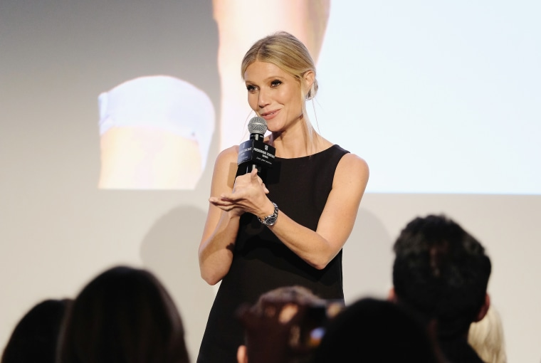 Image: Gwyneth Paltrow speaks at an event in New York