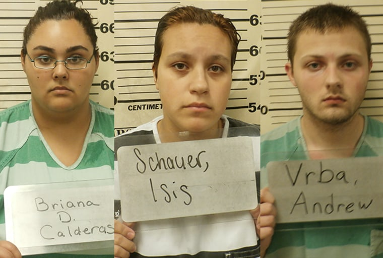 Calderas, Isis and Vrba. Photos courtesy of Texas County Sheriff's Department.