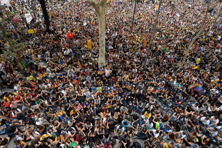 Image: Catalonia Referendum