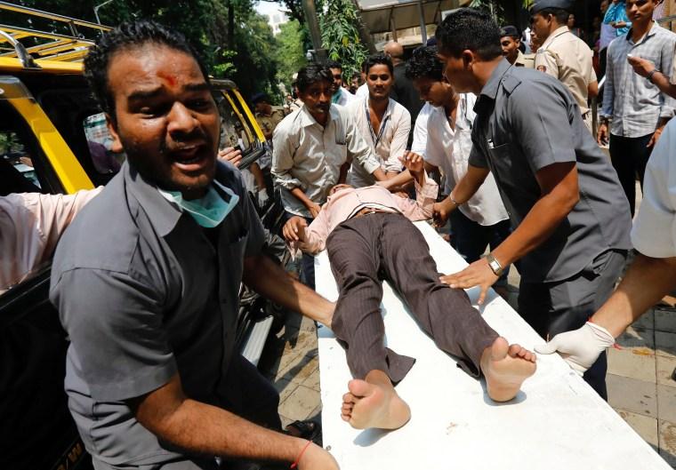 Image: Stampede in Mumbai