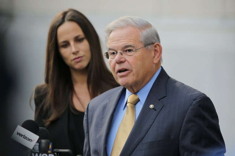 Image: Bribery Trial Of Senator Robert Menendez (D-NJ) Begins In Newark Federal Court