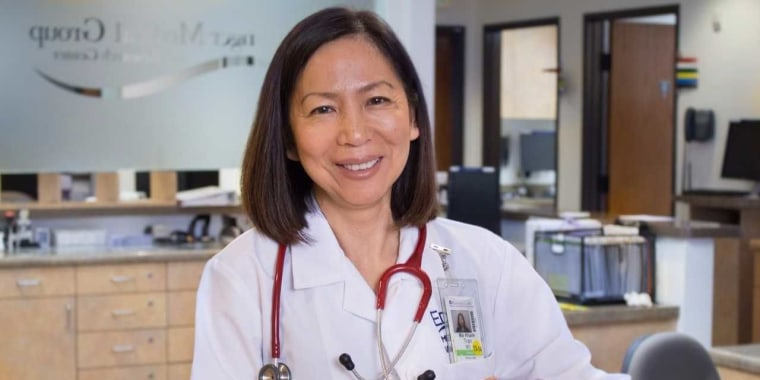 Mai-Khanh Tran, a pediatrician, is running to represent California's 39th Congressional District.