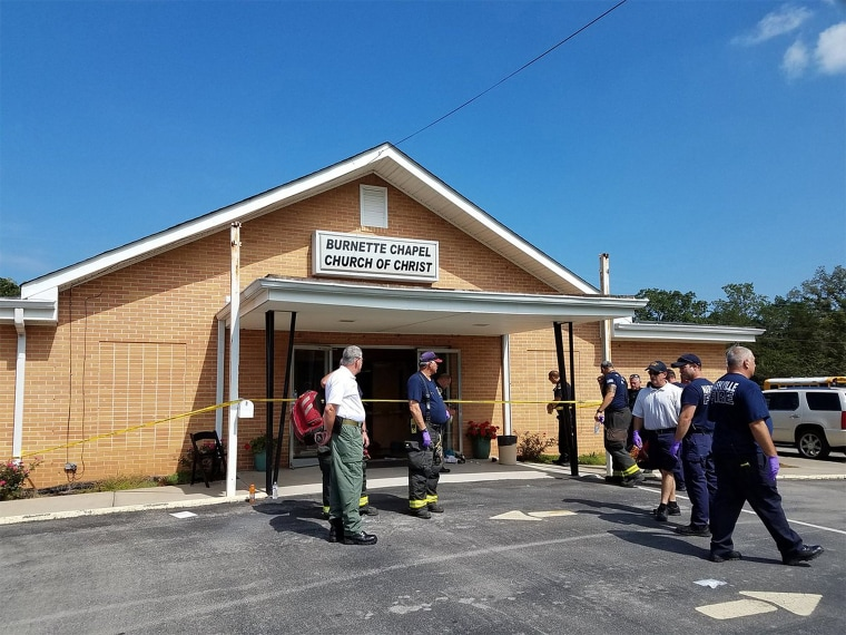 Image: One killed several wounded in church shooting