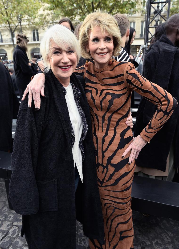 Helen Mirren and Jane Fonda