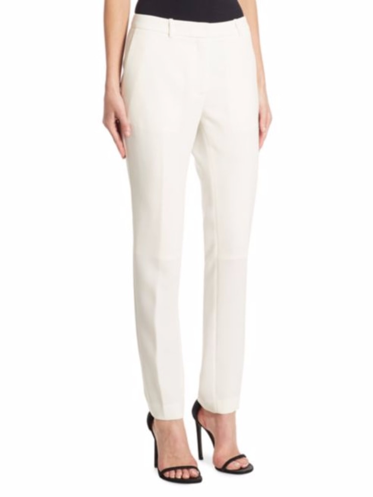 DKNY Ivory Trousers