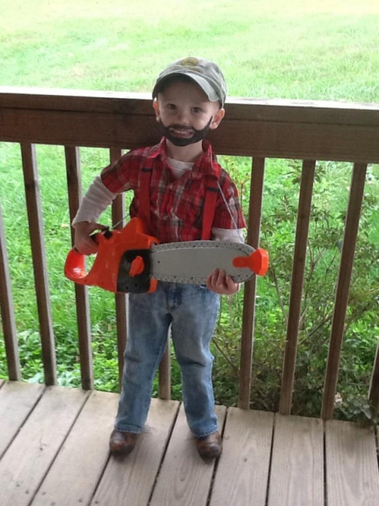 Alicia Goins Fain submitted this adorable lumberjack costume on the TODAY Parenting Team.