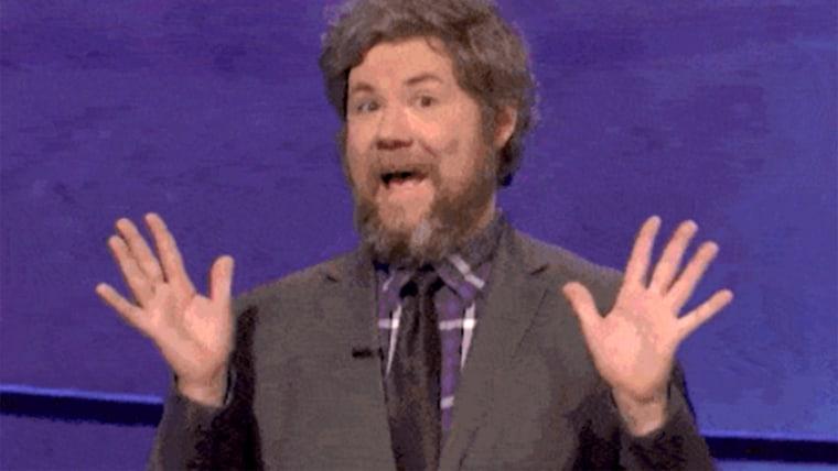 Austin Rogers on Jeopardy
