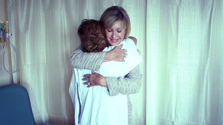 Part 2 of Natalie's interview with Olivia Newton-John. In the interview, she speaks a little more about the cancer, and also takes Natalie on a tour of a research center she founded.
