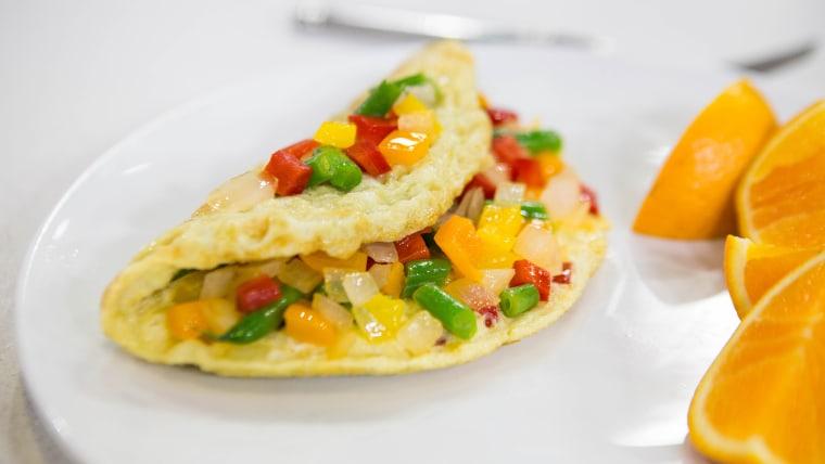 Egg-Vegetable Scramble