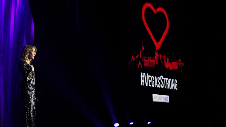 Image: Celine Dion Pledges Proceeds From Tonight's Show At Caesars Palace To The Victims And Families Of Las Vegas Tragedy