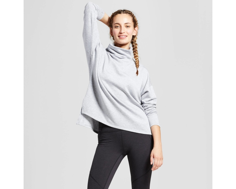 Joylab Turtleneck Cozy Layering Sweatshirt