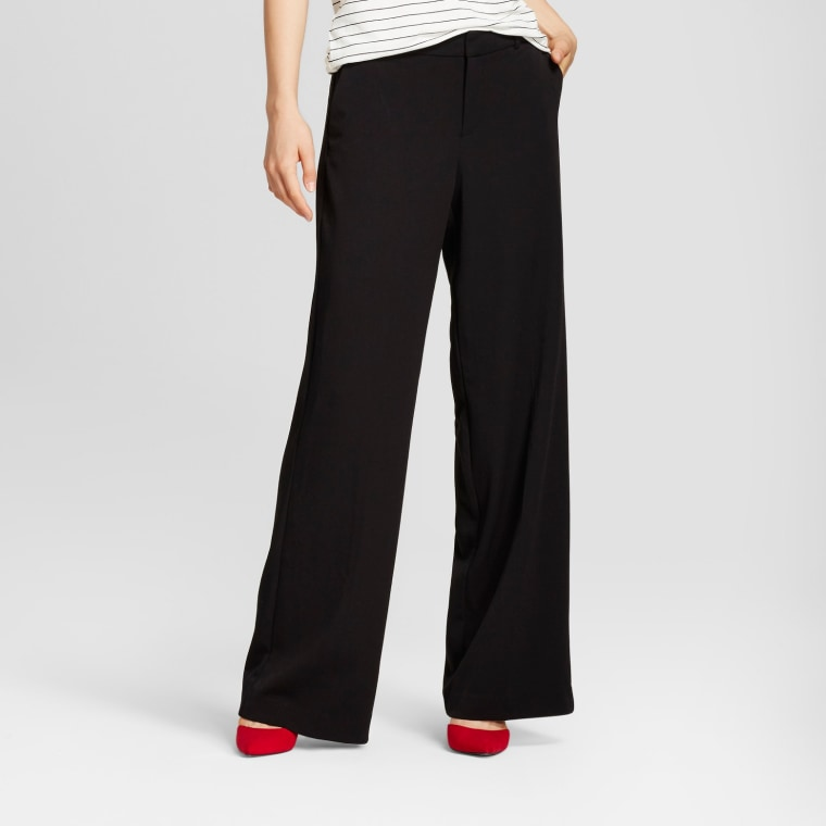 A New Day Wide Leg Bi-Stretch Twill Pants