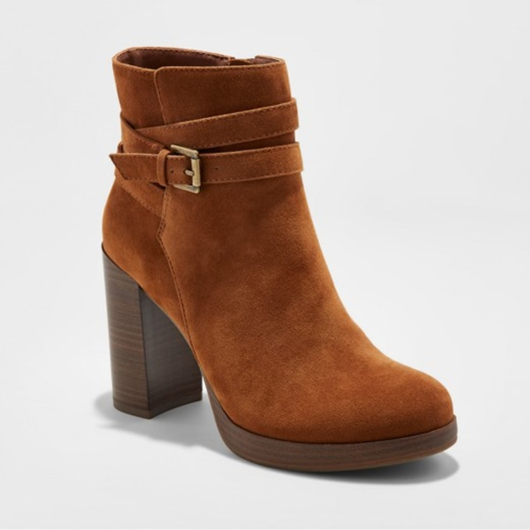 A New Day Nala Platform Wrap Booties