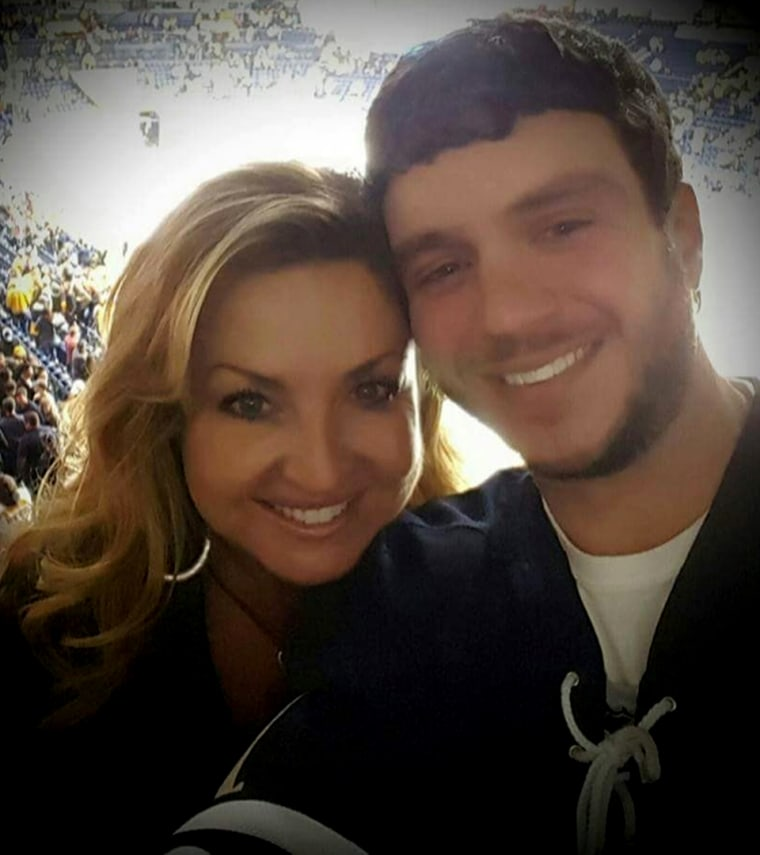 Image: Mandalay Bay shooting victim Sonny Melton in undated photo with his wife Heather Melton