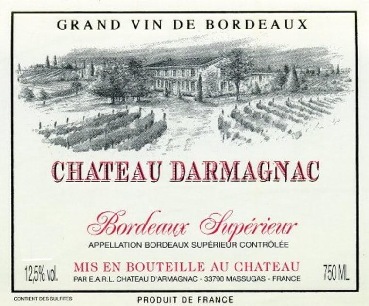 Bordeaux under $10 label