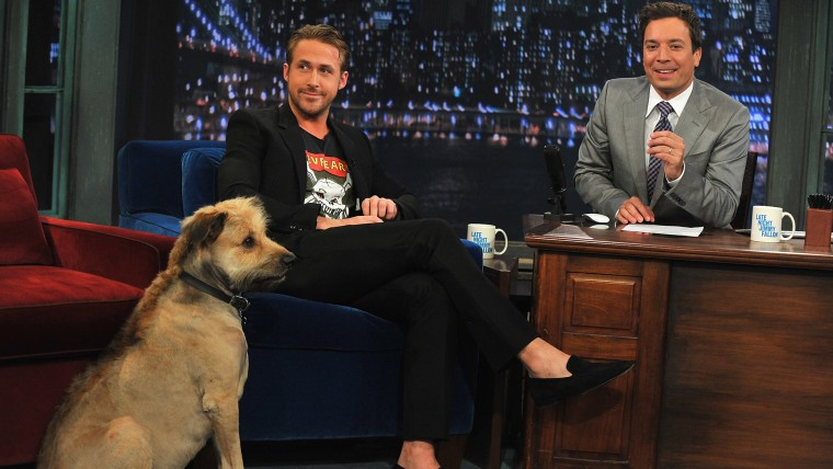 "Ryan Gosling Visits ""Late Night With Jimmy Fallon""  - July 20, 2011"