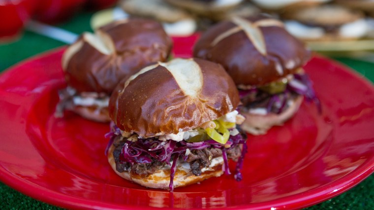 Renee Kelly's Sarsaparilla Short Rib Sandwich