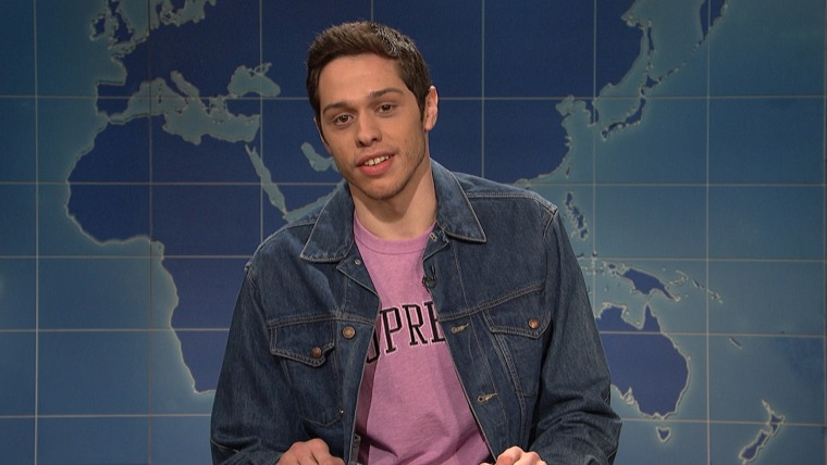 Davidson candidly addressed his condition (with some jokes mixed in) on Weekend Update last night.