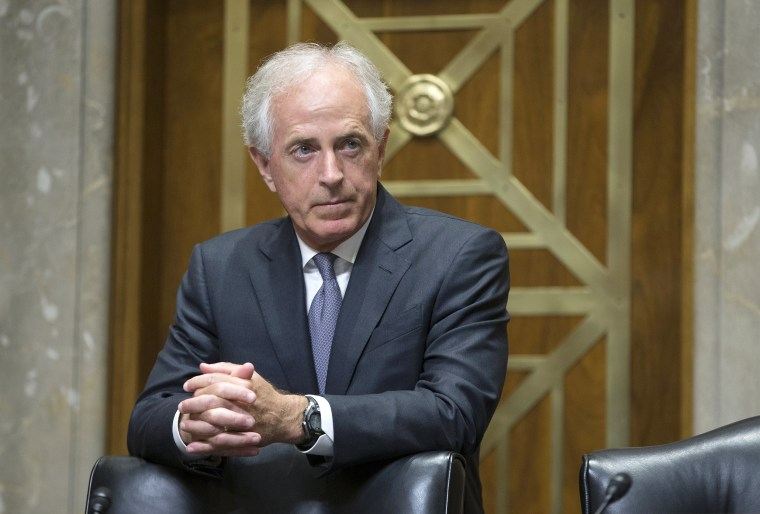 Image: Chairman of the Senate Foreign Relations Committee Republican Bob Corker