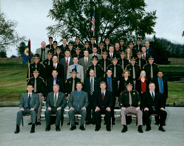 Mike Haugen's class of Iowa State Patrolmen in 2006.